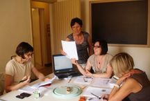 """Pintadera Italian courses / Our """"Lingua"""" courses are in small groups of 3 to 8 persons from 9.00 to 13.00"""