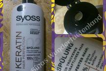"""Syoss – Keratin Hair Perfection / """"Verbesserte Haarqualität mit Keratin – Primer""""  Diese Spülung eignet sich hervorragend für Trockenes und Kraftloses Haar. Man erhält 100% Stärke & Strukturaufbau, Geschmeidigkeit und Leuchtendes Glanz."""