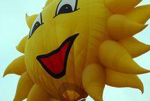 LETÍME / vzdušné balony