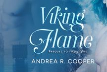 Viking Flame / Prequel to Viking Fire - Historical Romance with a touch of magic.