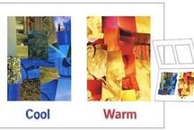 Cool Colors Warm Colors
