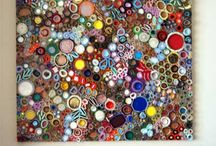 COLLAGE BUTTONS WITH FRAME