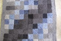 Ponchette fine boucle and regular boucle  mohair