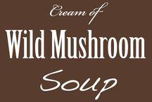 stuff with wild mushrooms