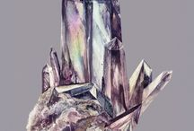 Crystals / by Shannon Quinlan