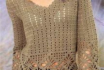 Blusa de crocher