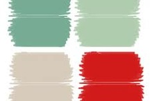 Red, White & touch of Mint