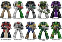 space marines color