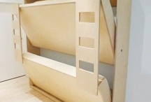 Bed and Storage space