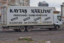 KAYTAŞ NAKLİYAT / Evden eve nakliyat,Taşımacılık hizmetleri,Şehirler arası Nakliyat