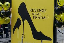 Revenge Wears Prada / Butler and Wilson is the partner of the marketing campaign-event of the Revenge wears Prada', The Devil Wears Prada Sequel.