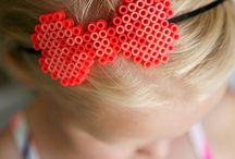 Perler Beads Bows
