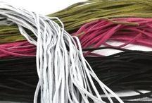 Kožené řemínky / Kožené řemínky různých barev