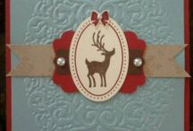 SU Christmas / stampin up Christmas cards