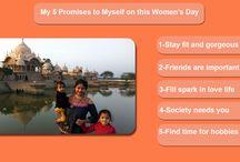 Happy women'sday / Happy women's day
