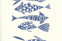 Printmaking / Printmaking ideas from fish at goat island marine reserve