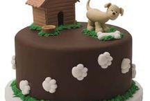 Тортики с собачками