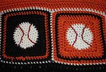 manly crochet blanket