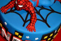 Lewis' spiderman party