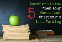 Homeschool Curriculum Choices / by Misty @ Joy in the Journey