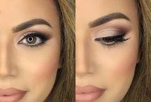 The wedding makeup