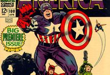 Silver Age Comic Cover Art / Comic book covers from some of my favourite series in the 1960s.