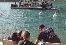 LES PYROCONCERTS / Show musical pyrotechnique en plein air, dans la baie de Talloires, chaque année, fin août