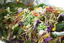 Asian Noodle Salad / Salad