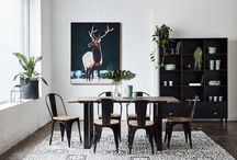 Industrial Style Decor / Classic industrial styling looks good in all types of houses and is easy to achieve.