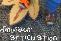 Dinosaurs / dinosaur activities for early childhood special ed, preschool and kindergarten