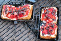 Food- pie irons / Food