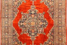 Persian Rugs From Tabriz / These rugs come from the Tabriz region in Iran. Tabriz rugs can be identified by these typical characteristics: a short and rough pile as well as patterns of arabesques and trees that revolve around a centrally placed medallion.