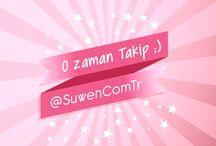 Sosyal Medyada Suwen / sosyal medya hesaplarımızı takip ederek birbirinden güzel sürprizler, size özel fırsat ve hediyeler kazanabilirsiniz  Twitter / Instagram / Snapchat için @SuwenComTr