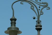 """Street lamps / Street lamps on my ways... """"Leave a light on for me"""""""