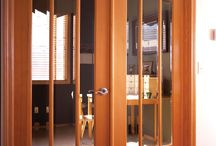 Doors with glass / Creative options for glazed exterior and interior doors / by Simpson Door Company