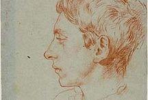 Augustus John drawings
