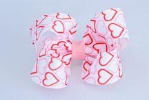Valentines Hair Bows