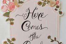 **Here Comes The Bride**
