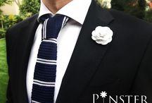 Pinster Czech Republic / Přinášíme Vám ty nejkvalitnější, ručně vyráběné ozdoby do klopy pro pravé gentlemany sledující módní trendy.