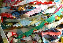 fabric & scraps / by aimee * artsyville