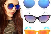 Mavi Aynalı Gözlükler