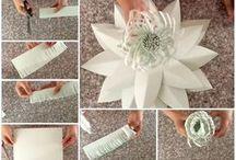 Flori hartie