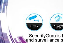 Home Security Guru / Security Systems •	Remote controlling of security systems, lights, locks •	Internet enabled electronic locks •	Garage door control •	Water valve sensors: sensors that shut down home main water valve when leaking pipe detected