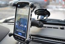 Uchwyty do smartfonów, nawigacji i kamer
