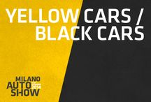 Yellow and Black Cars / Auto con i colori del Milano Auto Show
