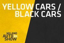 Yellow and Black Cars / Auto con i colori del Milano Auto Show