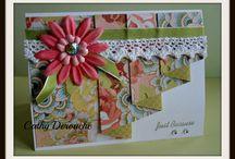 Drapery card fold