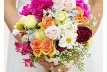 Colour burst wedding - bright, colourful wedding inspiration