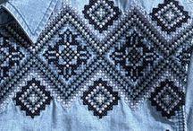 джинса+вышивка