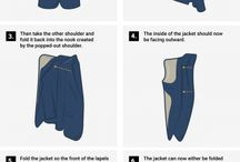 How to fold a suit